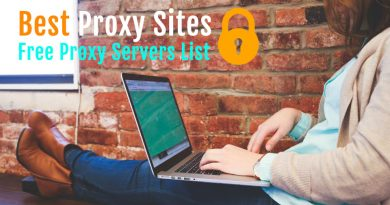 List of 100 Best Free Proxy Sites Servers