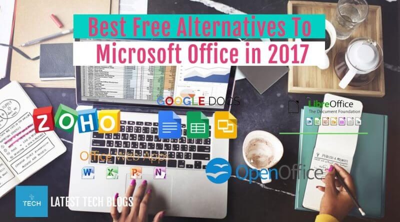 Alternatives To Microsoft Office In 2017