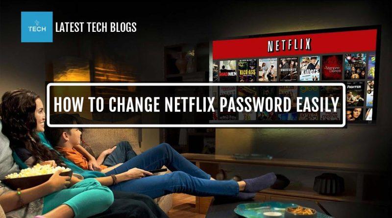 How To Change Netflix Paswword