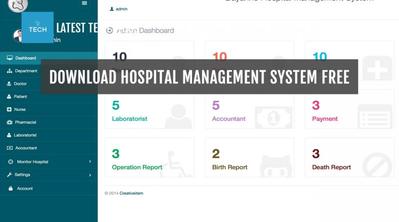 Download Hospital Management System Free Full Version - Latest Tech