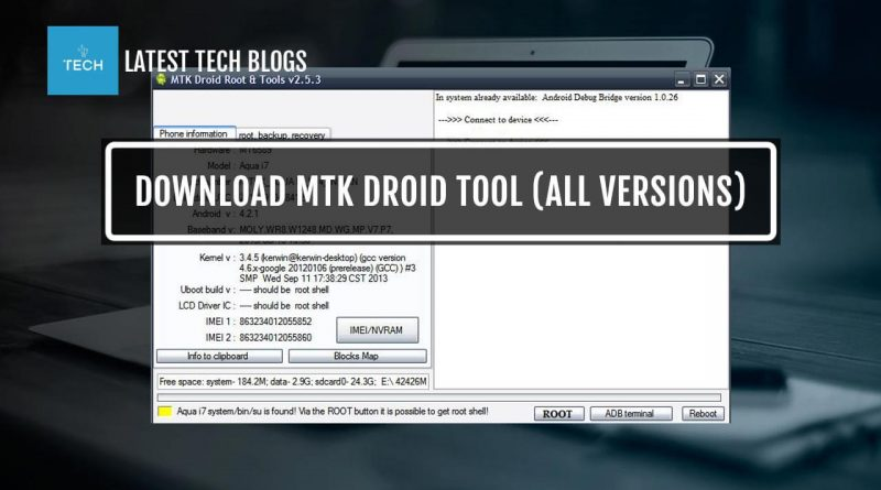 Download MTK Droid Tool Free