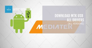 Download MTK USB All Drivers