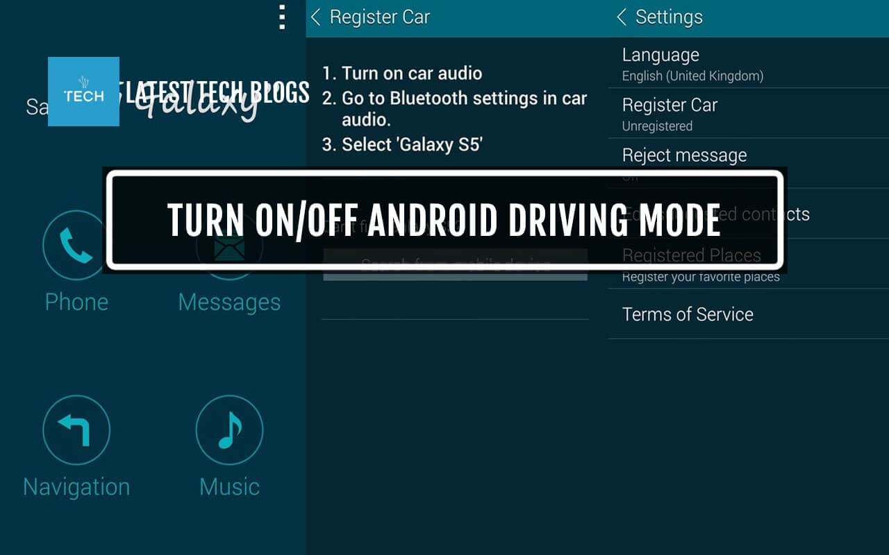 how to turn on off android driving mode settings latest tech blogs. Black Bedroom Furniture Sets. Home Design Ideas