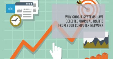 Why Google Detected Unusual Traffic