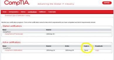 Complete Course of CompTIA A+ 2018