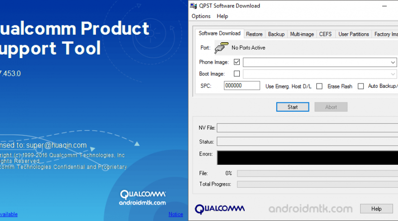 Download QPST Flash Tool (all versions)
