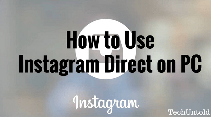 How to dm on Instagram on pc using Bluestacks