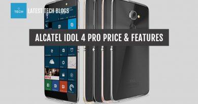 Alcatel Idol 4 Pro Price Specs in USA & Indonesia