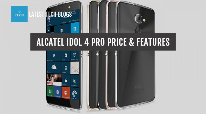 Alcatel Idol 4 Pro Price Specs in USA & Indonesia