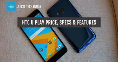 HTC U Play Price & Specification in USA & Indonesia