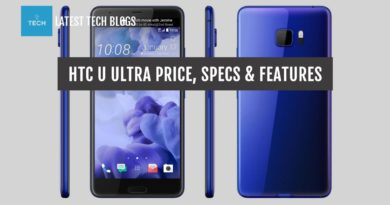 HTC U Ultra Price & Features in United States