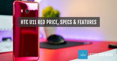 HTC U11 Red Price in USA & Indonesia