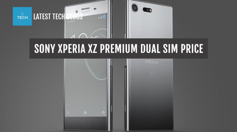 """Sony Xperia XZ Premium Dual SIM Price in United States 