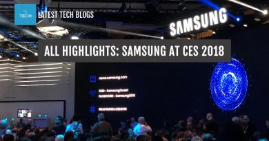 All highlights: Samsung at CES 2018