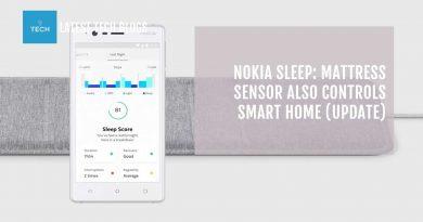 Nokia Sleep: Mattress Sensor Also Controls Smart Home (UPDATE)