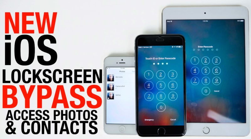 The Top Ways to Bypass Passcode Lock Screens on iPhones And iPads