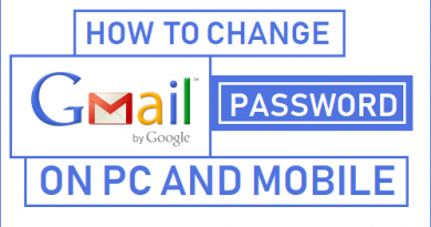 How To Change Gmail Password on Android or PC
